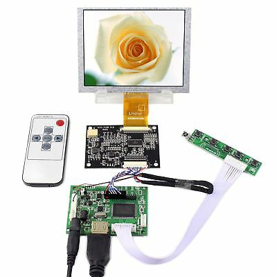 HDMI LCD Controller Board  5inch ZJ050NA-08C Replace AT050TN22 640x480 LCD