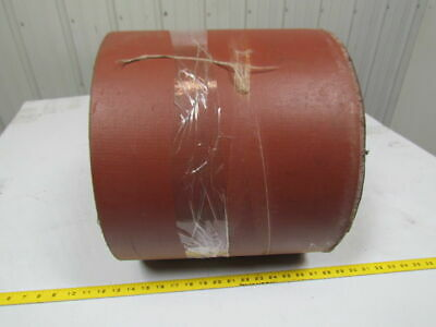 """5 ply nipple top red pvc rubber conveyor belt 25ft x 13-1/2"""" 0.545"""" thick"""