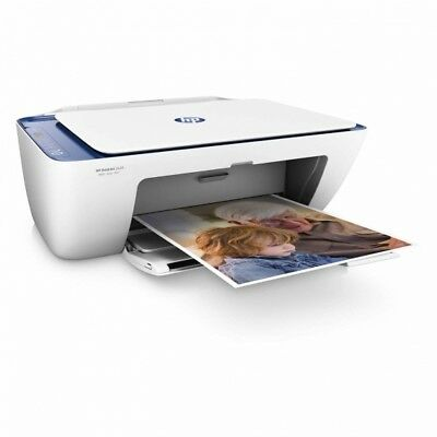 HP Deskjet 2132 7.5PPM USB All-in-One Printer - White/Green -From Argos on ebay