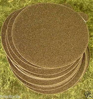 """50pc 5 """" 40 GRIT PSA STICK ON SANDPAPER DISC Silicon Carbide Wet / Dry sand inch"""