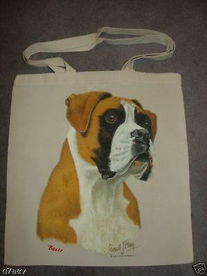 Boxer Head On  A Tote Canvas Bag