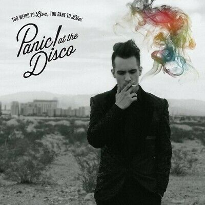 Panic! At the Disco - Too Weird To Live, Too Rare To Die [New CD]