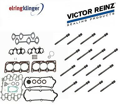 AUDI A4,A4Q,PASSAT V6 2.8 Cylinder Head Gasket Set WITH BOLTS One Side