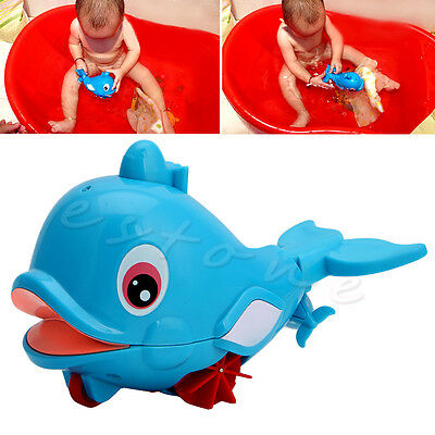 New Hot Whale Squirting Baby Bathing Toy Water Play Plastic Swimming amphibious