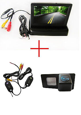 Wireless 4.3'' Monitor Car Reverse Camera for Ssangyong Rexton Ssang yong Kyron