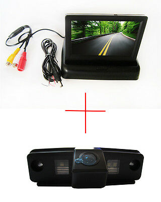 4.3'' Foldable  CCD Monitor Reverse Camera for SUBARU FORESTER/OUTBACK/IMPREZA