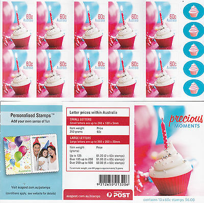 2012 Precious Moments (Cup Cake) - Stamp Booklet SB388