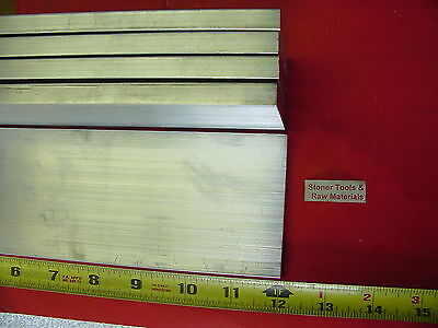 "5 Pieces 1/2"" X 3"" ALUMINUM 6061 FLAT BAR 12"" long T6511 Solid Plate Mill Stock"