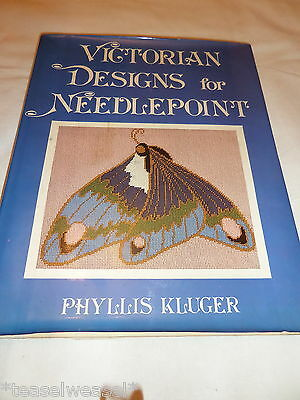 Victorian Designs For Needle Point Phylus Klugec Hardback 1979