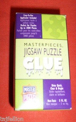 Sealed, MASTER JIGSAW PUZZLE GLUE, Fast & Easy To Use, Up To 3000 Puzzle Pieces