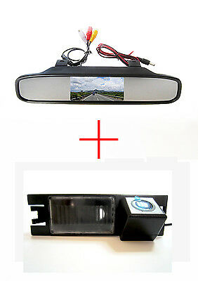 4.3'' Mirror Monitor CCD Reverse Back up Camera for Hyundai IX35 / Tucson 2011