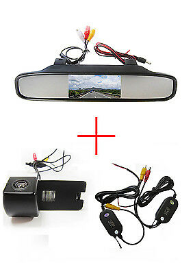 Wireless 4.3'' CCD Monitor Reverse Camera for Holden Commodore VY VZ VE1
