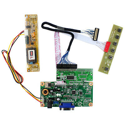 "VGA LCD Controller Board For 10.4"" LQ104S1DG21 800x600 LCD Screen"