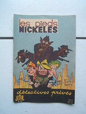 Pellos / Les Pieds Nickeles 32  / Detectives Prives  / 1964