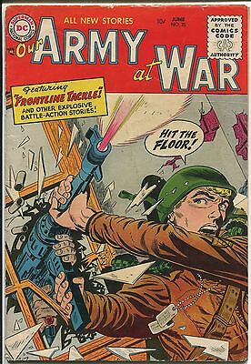 "Our Army At War #35  ""Frontline Tackle!"" - (Grade 5.0)WH"