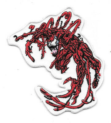 Marvel's Amazing Spider-Man Carnage Villain Figure Embroidered Patch NEW UNUSED