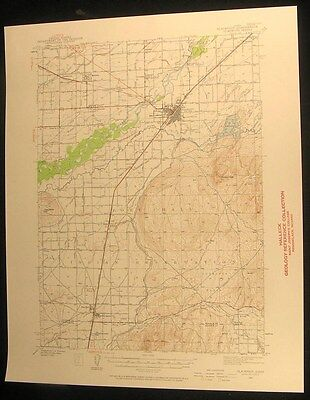 Blackfoot Idaho Fort Hal Ferry Butte 1940 vintage USGS original Topo chart map