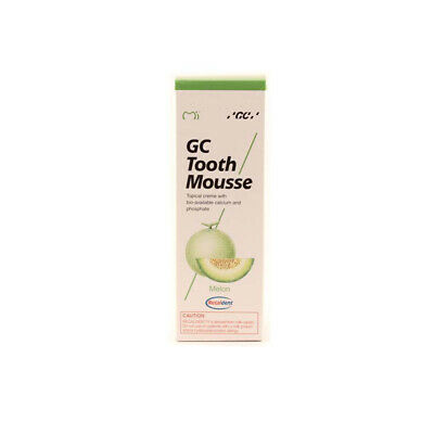 GC Tooth Mousse Zahnpasta 35ml Tube Melone