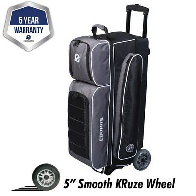 Storm Rolling Thunder Purple/Black/White 2 Ball Roller Bowling Bag