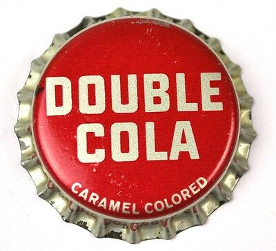 Double Cola Soda Kronkorken USA Soda Bottle Cap Korkdichtung