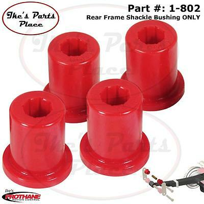 Prothane 1-802 Rear Leaf Spring FRAME Shackle Bushing 76-86 JEEP CJ5&CJ6 Poly