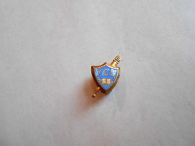 Vintage YCL Young Christian Leaders Sunday School / Church Group Lapel Pin