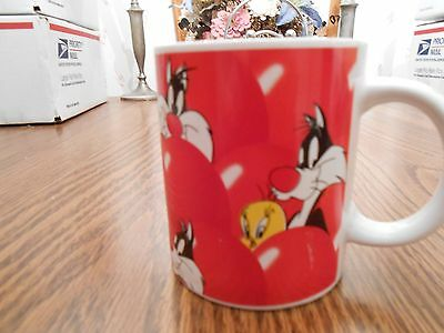 Looney Tunes Sylvester the Cat Red Balloons Mug/Cup
