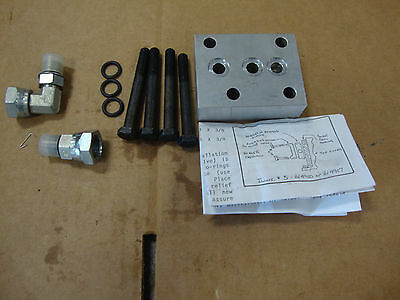 1710 1910 2110 Ford Compact Tractor Hyd Adapter Plate With Draft Control