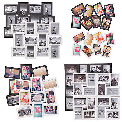 8/12/16/18 Photos Large Multi Picture Frame Collage Aperture Wall decor Memories