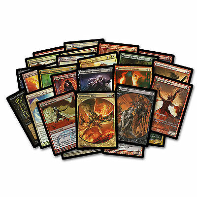 MTG Magic the Gathering 25 Different Card Promo Lot Collection FOIL Textless