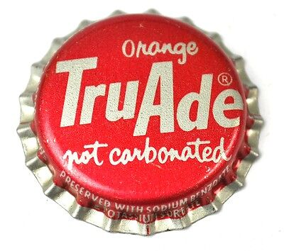Tru Ade TruAde Orange Soda Kronkorken USA Bottle Cap Plastikdichtung
