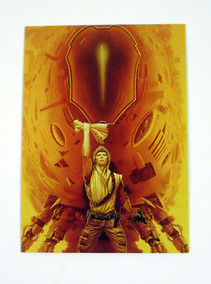 1995 Comic Images Other Worlds: Michael Whelan II Promo Card (Unnumbered) Nm/Mt