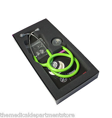 3M Littmann Classic III Stethoscope Lime Green 5829 Brand New 5 Yr Warranty