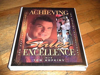 Achieving Sales Excellence with Tom Hopkins  (Audio Cassette Tapes) - NEW