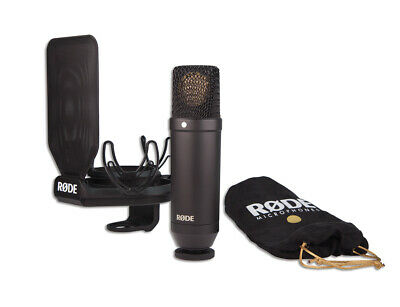 RODE NT1KIT Professional Studio Condenser Microphone w/ SMR Shock Mount