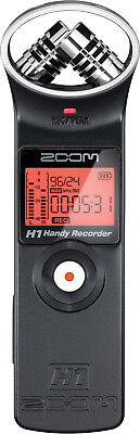 Zoom H1 Handy Portable Audio Recorder (BLACK)