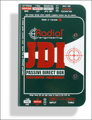 Radial JDI Passive DI Direct Injection Box