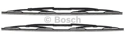 New Front Bosch Wiper Blade Set of 2 Audi A4 S4 2004 2003 Quattro 2002 Pair