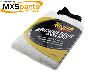 Meguiars Super Thick Microfibre Cleaning Valeting Car Wash Mitt