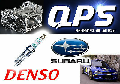 for Subaru Impreza 2.0 R Denso Iridium Power Spark Plugs