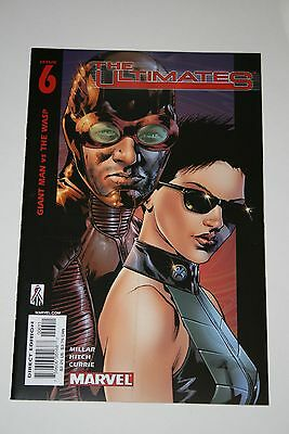 Ultimates #6 Nm+ Unread; 2002 Marvel; Giant-Man & Wasp; First Print! Avengers!