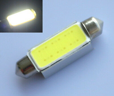 8x Auto 42mm CANBUS COB-Chip Soffitte WEISS Auto Innenraum Beleuchtung LED Lampe