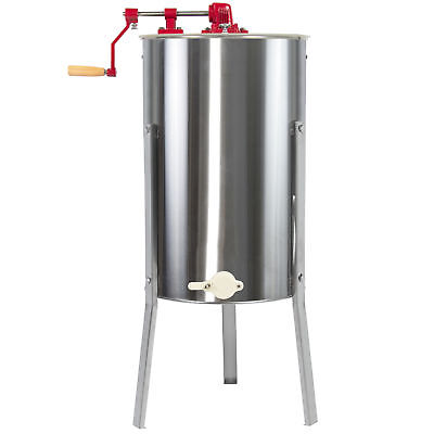 BCP Large 2 Frame Stainless Steel Honey Extractor Beekeeping Equipment