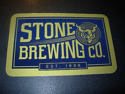 STONE BREWERY Blue Gold Brewing Co STICKER decal craft beer brewing