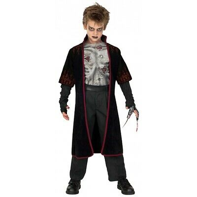VAMPIRE COSTUME KIDS Scary Halloween Fancy Dress