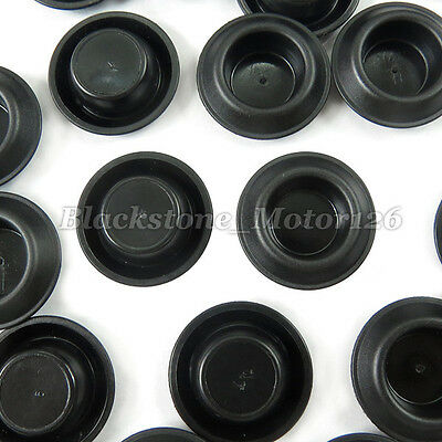 """100 Depressed Center Hole Plugs Button 3/4"""" For GM For Buick For Chevrolet"""