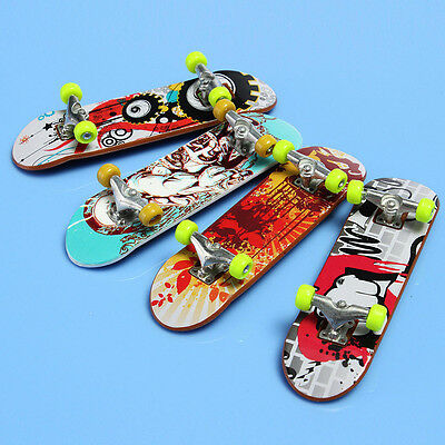 Mini Skate Finger Board Skateboards Miniature Toy Children Kids' Gift