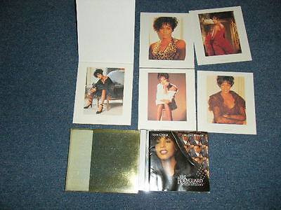 ost WHITNEY HOUSTON Japan 1993 NM CD+Outer Box+Pin Ups Booklet THE BODYGUARD