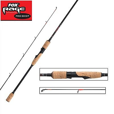 Fox Rage Warrior Dropshot 2,25m 4-17g Drop Shot Rute für Zander, Hecht & Barsch