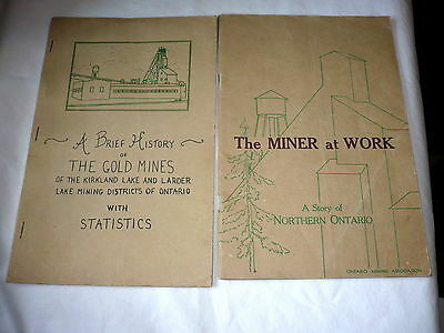 The Miner At Work A Story Of Northern Ontario 1949 Ontario Mining Association BK